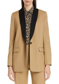 Equipment Quincy Shawl Collar Blazer