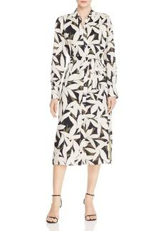 Equipment Rosalee Floral-Print Midi Dress