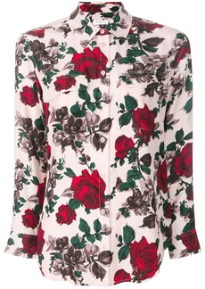Equipment rose print shirt - Nude & Neutrals