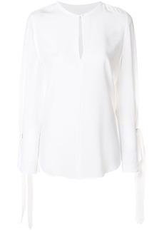 Equipment round neck blouse - White