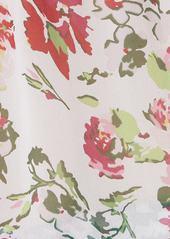 Equipment Samine Floral Silk Chiffon Blouse