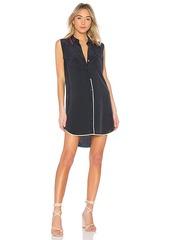 Equipment Sleeveless Slim Signature Dress