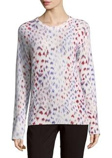 Equipment Sloane Cashmere Printed Sweater
