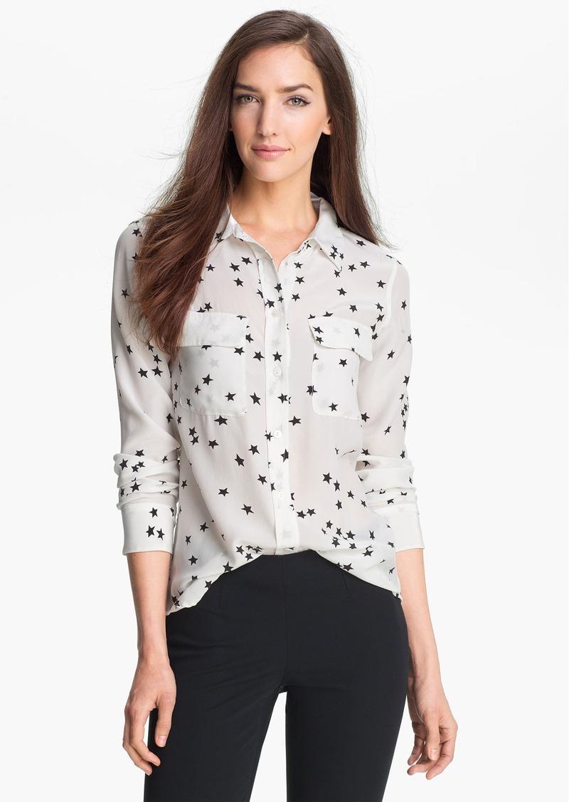 Equipment 'Starry Night' Silk Shirt