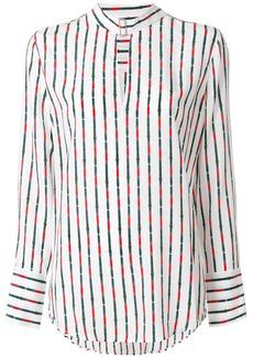 Equipment striped blouse - White
