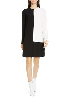 Equipment Tatienne Long Sleeve Shift Dress