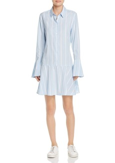 Equipment Tracy Flounced Shirt Dress