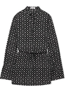 Equipment Trista Printed Silk-crepe Mini Dress