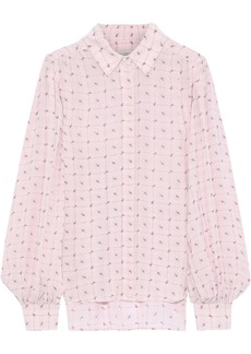 Equipment Woman + Tabitha Simmons Marcilly Printed Crepe De Chine Shirt Baby Pink