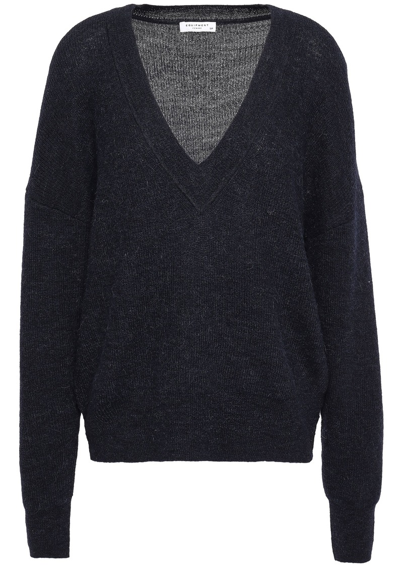Equipment Woman Amory Alpaca-blend Sweater Midnight Blue
