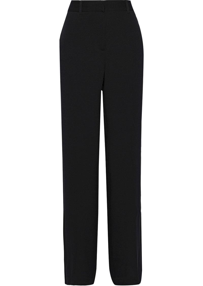 Equipment Woman Arwen Crepe Wide-leg Pants Black