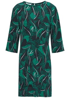Equipment Woman Aubrey Washed-silk Mini Dress Emerald