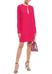 Equipment Woman Bonnie Crepe Mini Dress Bright Pink