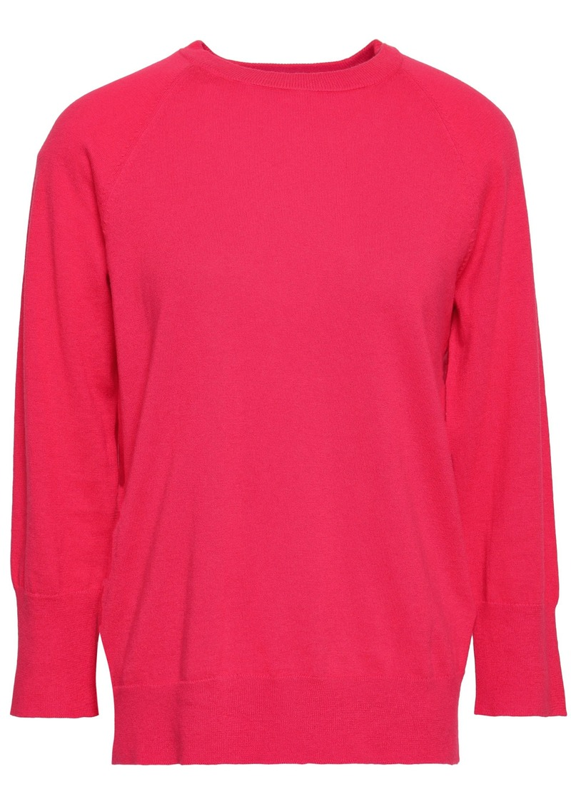 Equipment Woman Cotton And Cashmere-blend Sweater Pink