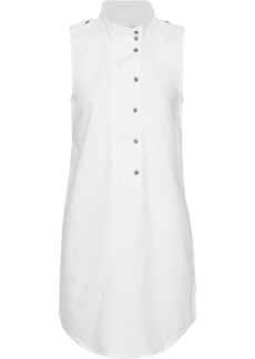 Equipment Woman Denim Mini Dress White