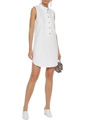 Equipment Woman Denim Mini Dress White