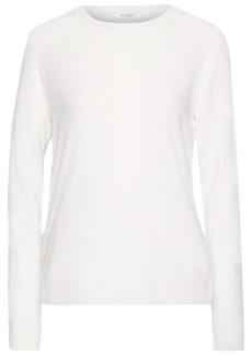 Equipment Woman Jenny Button-detailed Cashmere Sweater Ivory