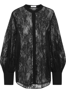 Equipment Woman Lace Blouse Black