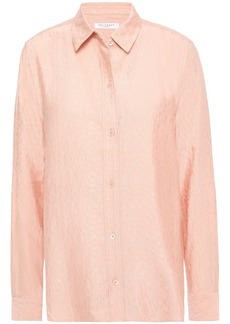 Equipment Woman Leema Jacquard Shirt Blush