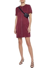 Equipment Woman Noemy Washed Silk-blend Mini Dress Claret