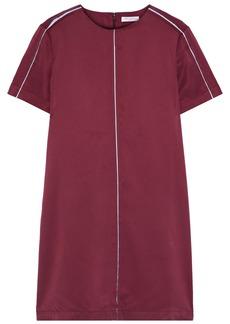 Equipment Woman Noemy Washed Silk-blend Mini Dress Claret