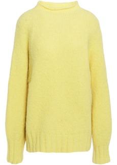 Equipment Woman Souxanne Alpaca-blend Sweater Pastel Yellow