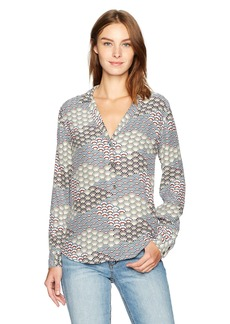 Equipment Women's Adalyn Fan Printed Blouse  S