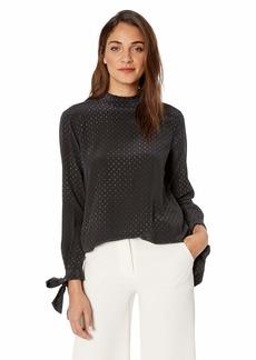 Equipment Women's Aurora Silk Ruffle Shirt