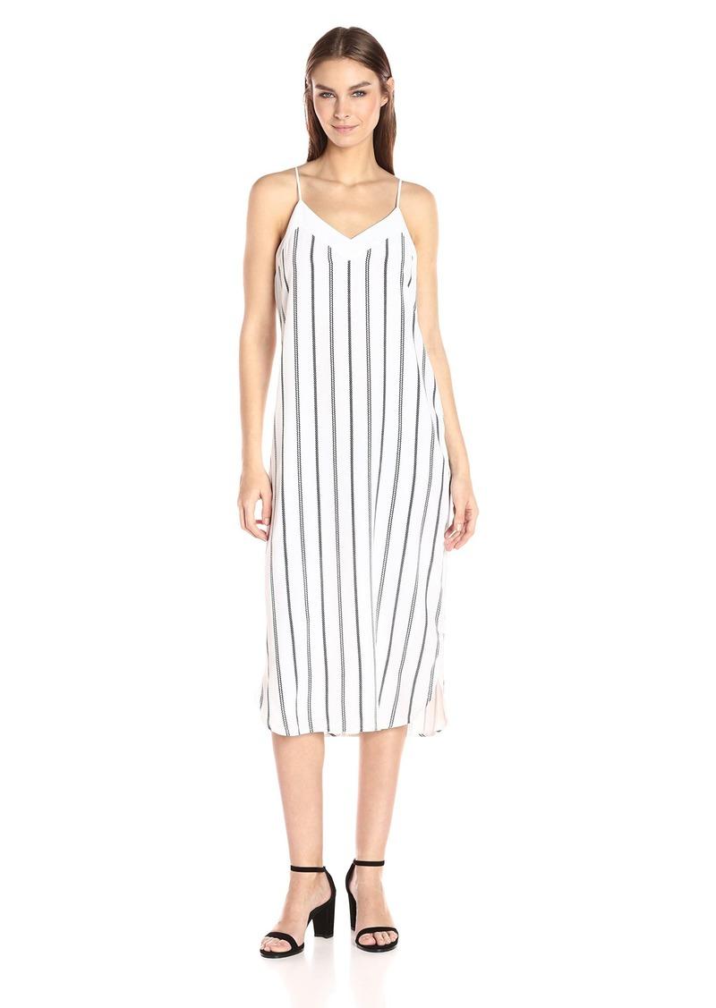 Equipment Women's Dian Stripe Slip Dress  M