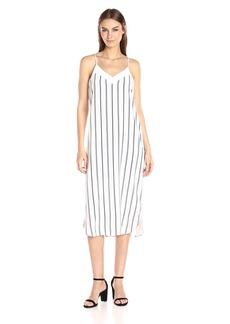 Equipment Women's Dian Stripe Slip Dress  S