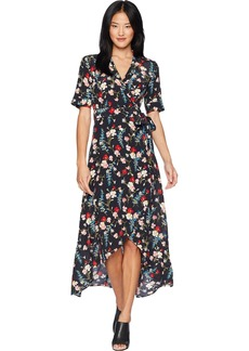 Equipment Women's Festive Floral Printed Imogene Dress