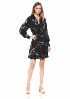 Equipment Women's Floral Print Short Fanetta Dress