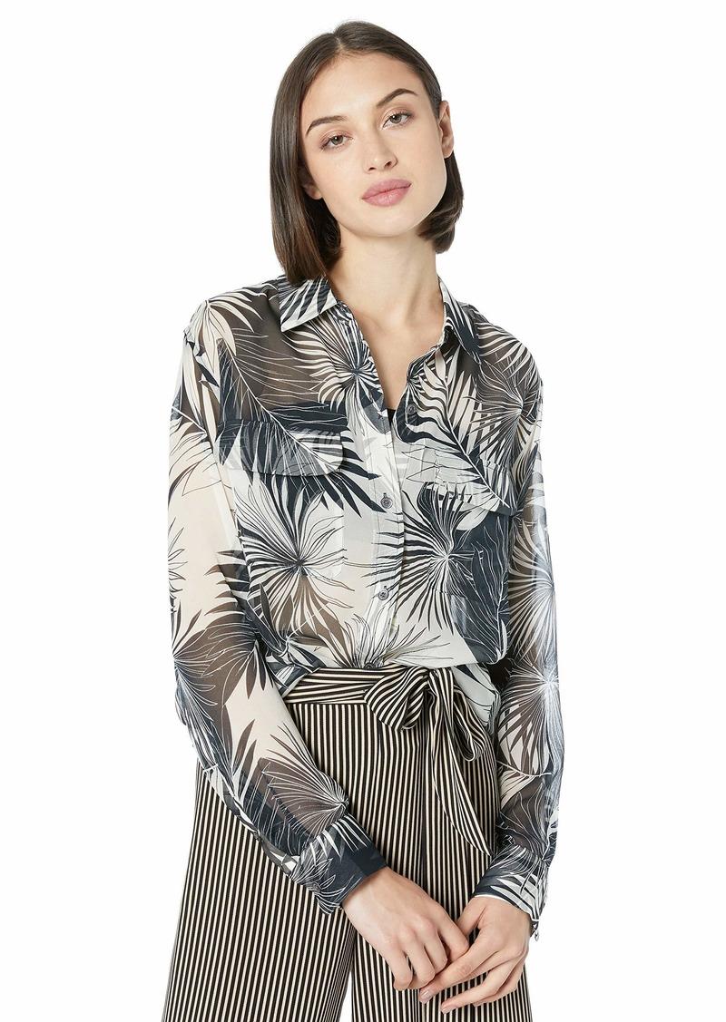 Equipment Women's Floral Silk Signature Shirt