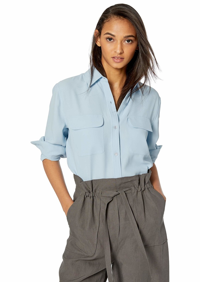 Equipment Women's Heavy Crepe De Chine Signature Shirt