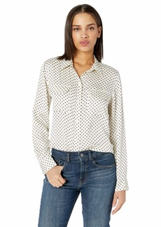 Equipment Women's Mini Star Slim Signature Shirt NTR White Eclipse