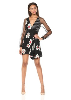 Equipment Women's Mixed Print Alexandria Dress