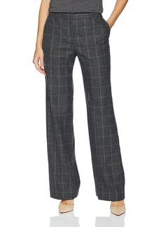 Equipment Women's Scholastic Plaid Wool Twill Hagan Trouser