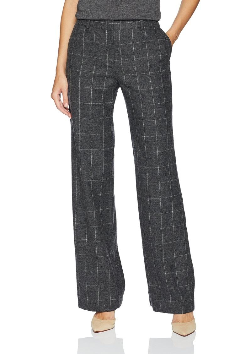 Equipment Women's Scholastic Plaid Wool Twill Hagan Trouser