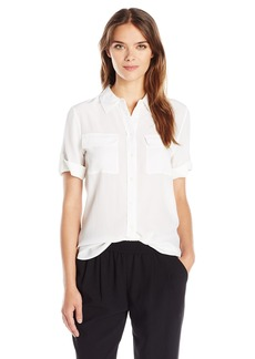 Equipment Women's Short Sleeve Slim Signature