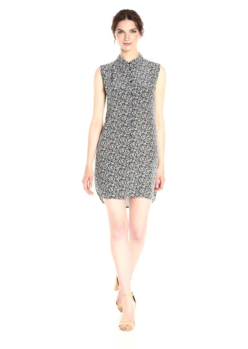 Equipment Women's Sleeveless Slim Signature Dress Atlantic deep Multi M