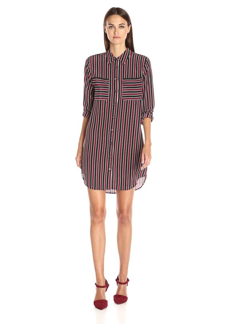Equipment Women's Slim Signature Dress Deco Stripe