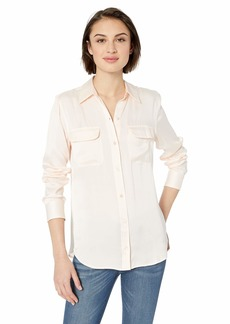 Equipment Women's Slim Signature  Silk Shirt