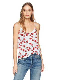 Equipment Women's Tossed Poppies Printed Layla Cami  Extra Small