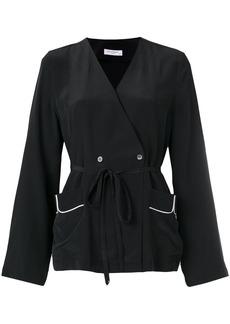 Equipment wrap blouse - Black