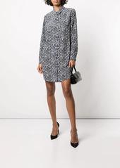 Equipment Essentail silk shirt dress