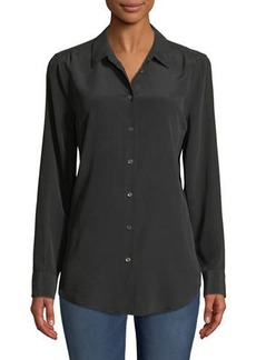 Equipment Essential Long-Sleeve Silk Shirt