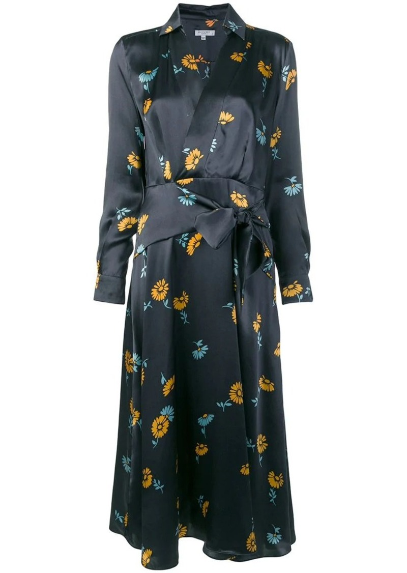 Equipment floral print dress