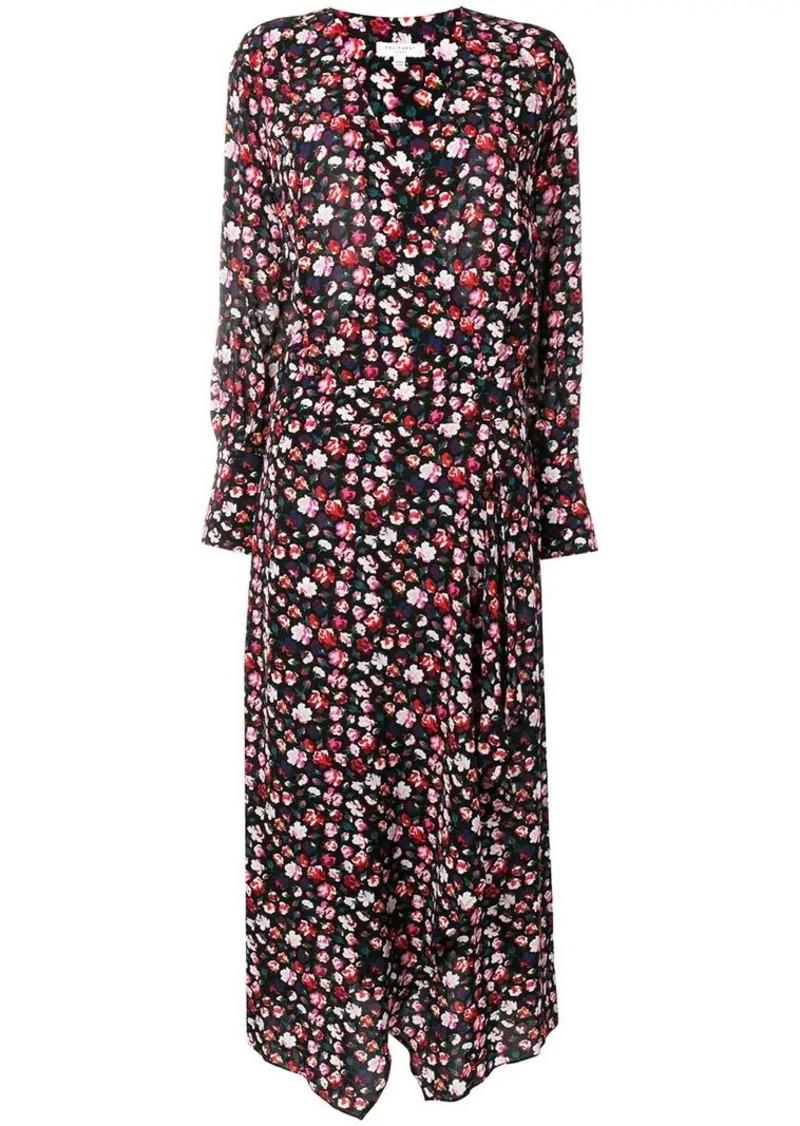 Equipment floral print maxi dress