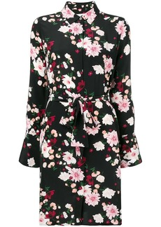 Equipment floral-print shirt dress