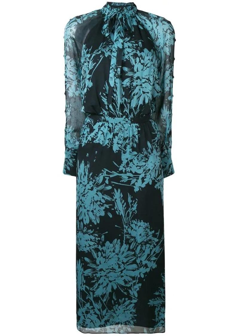Equipment Henriette floral print dress